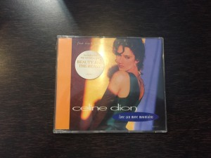 Celine Dion, love can move moiuntains. 4 track cd.