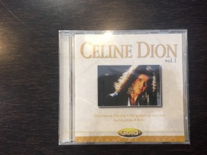 Celine Dion, vol. 1 collection gold.