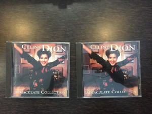 Celine Dion immaculate Collection