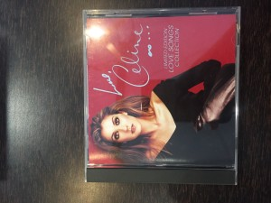Celine Dion limited edition love songs collection