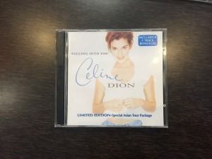 2CD Celine Dion falling into you