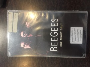 beegees, one night only