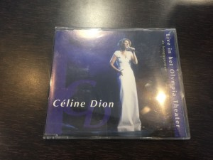 Celine Dion, live in het olympia theate