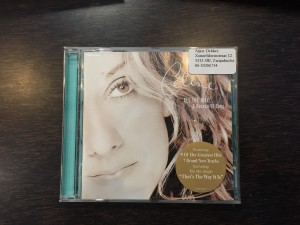 Celine Dion, album all the way