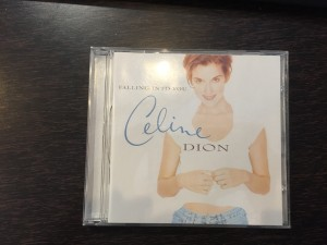 Celine Dion, album falling into you.