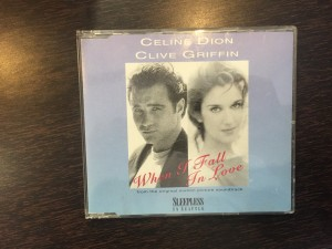 Celine Dion, clive griffin. When I fall in love